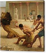 Ancient Sport Canvas Print