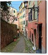 ancient street in Sori Canvas Print