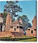Ancient Temple Complex  - Amarkantak India Canvas Print