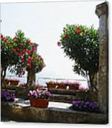 Ancient Town Of Ravello Italy Canvas Print