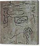 Ancient Wall Art Canvas Print