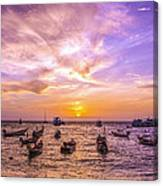 And Every Sunset Will Bring You That Much Nearer... Canvas Print