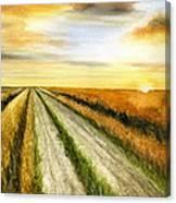 And God Said... Canvas Print