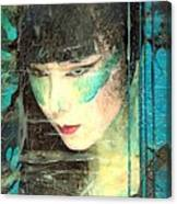 And She Waits Canvas Print