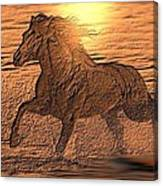 Andalusian Sunset Canvas Print