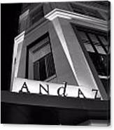 Andaz Hotel On 5th Avenue Canvas Print