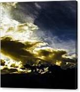 Andean Cloudwork Canvas Print