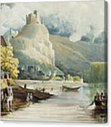 Andely, From Views On The Seine Canvas Print