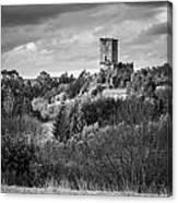 Andrade's Castle Galicia Spain Canvas Print