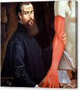 Andreas Vesalius Canvas Print