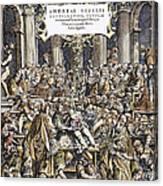 Andreas Vesalius Teaching Canvas Print