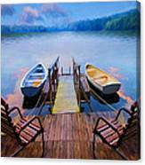 Andre's Dock Canvas Print