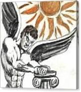 Ange Du Soliel Canvas Print