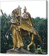 Angel And Tecumseh Sherman Canvas Print