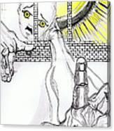 Angel Art - The Helping Hand Canvas Print