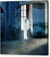 Angel At Window Canvas Print