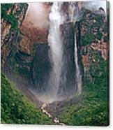 Angel Falls In Venezuela Canvas Print
