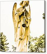 Angel From Dominican Canvas Print