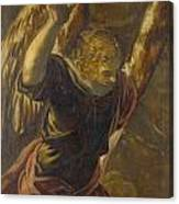 Angel From The Annunciation To The Virgin Canvas Print