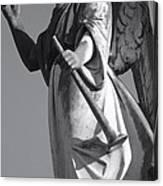 Angel Gabriel With Trumpet Canvas Print