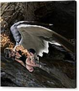 Angel- Give Your Worries To The Father Canvas Print