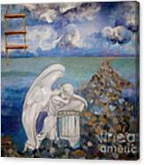 Angel Lost Canvas Print