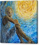 Angel Moon II Canvas Print