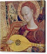 Angel Musician Canvas Print