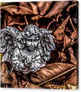 Angel Of Fall Canvas Print