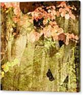 Angel Of The Woods Canvas Print