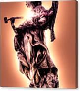 Angel Or Judge Canvas Print
