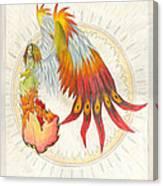 Angel Phoenix Canvas Print