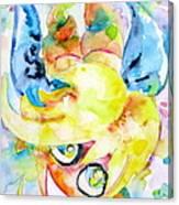Angel Sala Bin Canvas Print