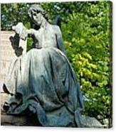 Angel Statue Canvas Print