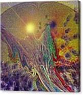 Angel Taking Flight Canvas Print