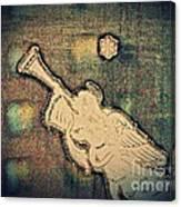Angel Trumpeter Canvas Print