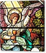 Angel With A Chalice Canvas Print