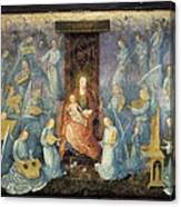 Angelical Concert. 15th-16th C. Flemish Canvas Print