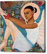 Angelique Earthangel From France Canvas Print