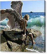 Angels- I'm Watching Over You Canvas Print