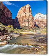 Angel's Landing Zion Utah Canvas Print