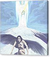 Angels Of Light And Darkness Canvas Print