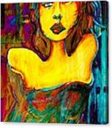 Angie Canvas Print