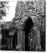 Angkor Thom East Gate 01 Canvas Print