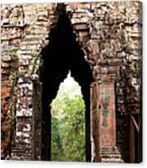 Angkor Thom East Gate 02 Canvas Print