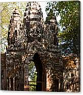 Angkor Thom North Gate 01 Canvas Print