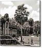 Angkor Wat Bw II Canvas Print