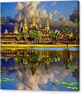 Angkor Wat Just Before Sunset Canvas Print