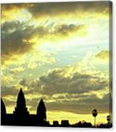 Angkor Wat Sunrise 03 Canvas Print