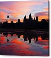 Angkor Wat Sunrise Canvas Print
